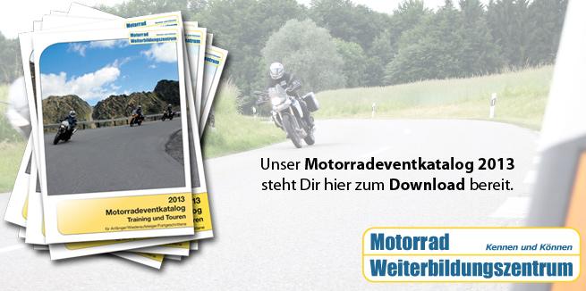 Motorradevent-Katalog Download 2013