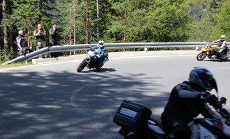 Motorrad Fahrsicherheitstraining - Kurventraining