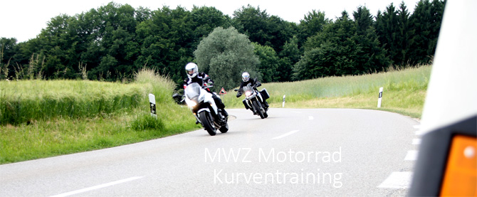 Motorradtraining, Motorradkurventraining, Fahrsicherheitstraining mit dem Motorrad