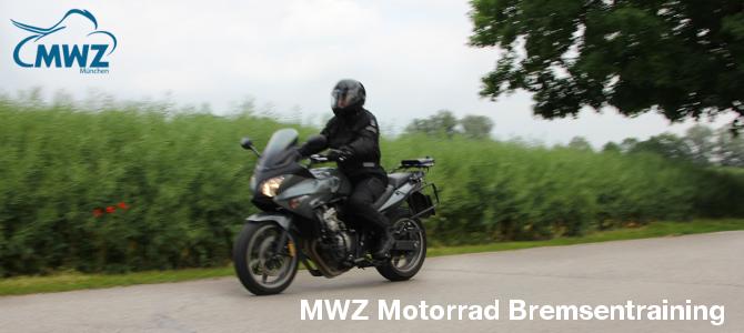 Motorradtraining Bremsentraining München