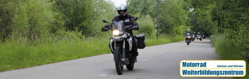 Bremsentraining Motorrad Weiterbildungszentrum München