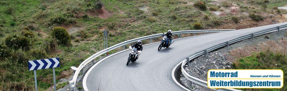 Motorradtrainings und Motorradtouren Motorrad Weiterbildungszentrum München