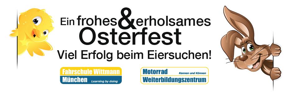 Ostergrüße mwz motorrad-weiterbildungszentrum münchen