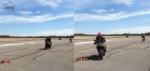 MWZ-Fahrtraining-Motorrad-Ausweichen